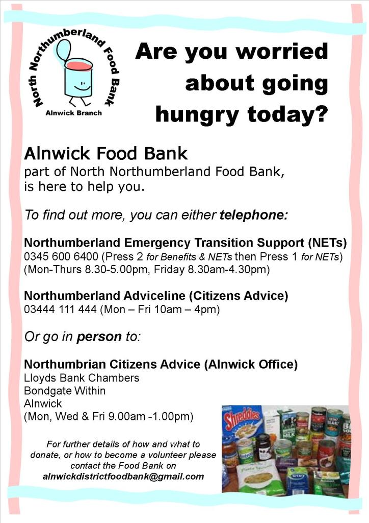 Food Bank poster final ~ updated 31-5-16